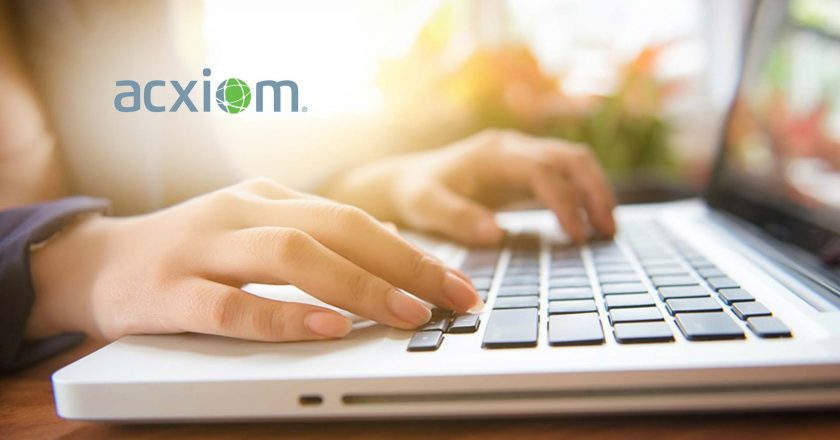 Acxiom Announces New Global Identity Solutions Portfolio to Help Marketers Improve Experiences Everywhere