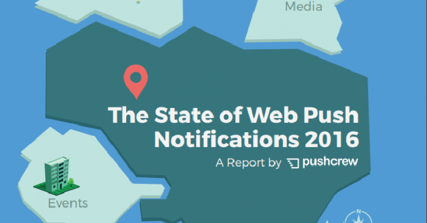 PushCrew Releases World's First Web Push Notifications Report; Reveals Higher CTR for Push Notification Than Email Campaigns