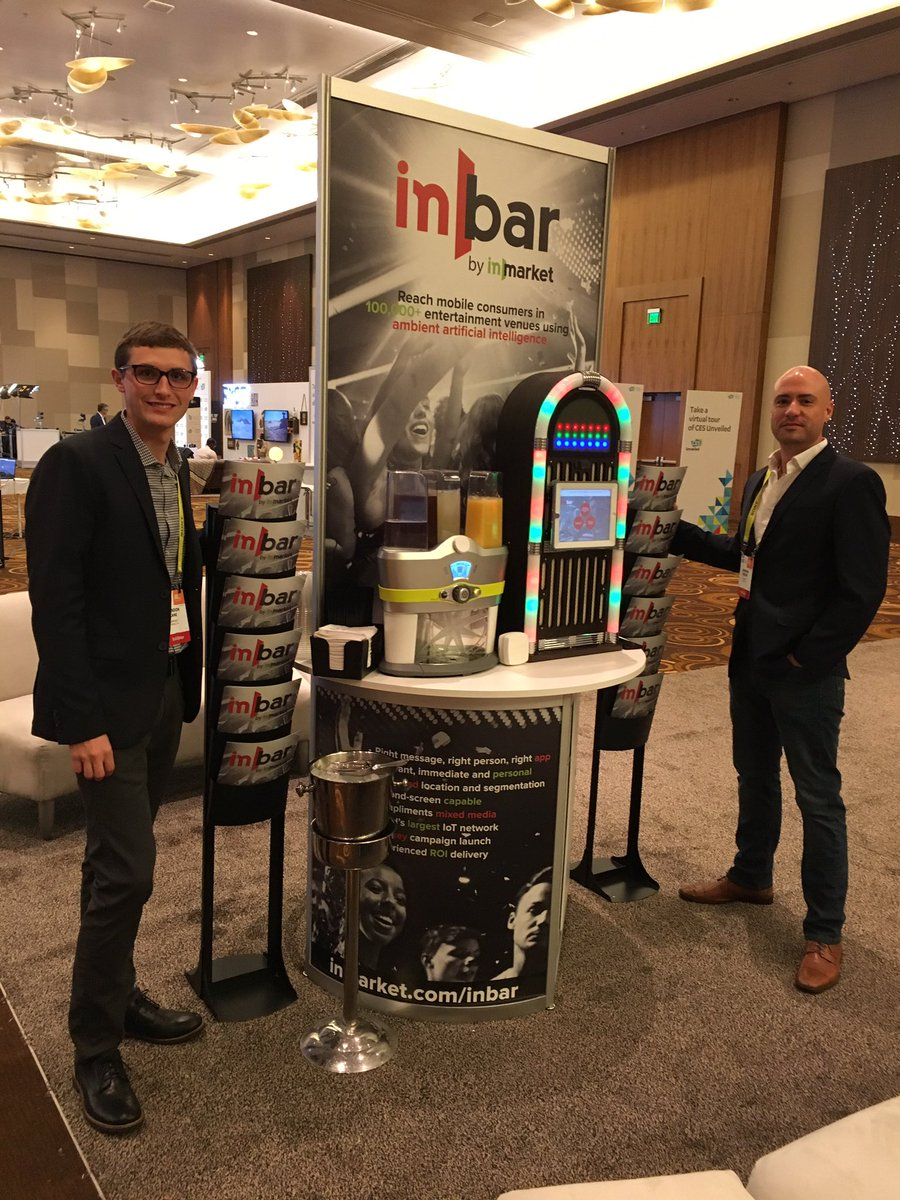 inBar Beacon: Mobile-For-Retail Marketing Gets Its Next Eye Candy