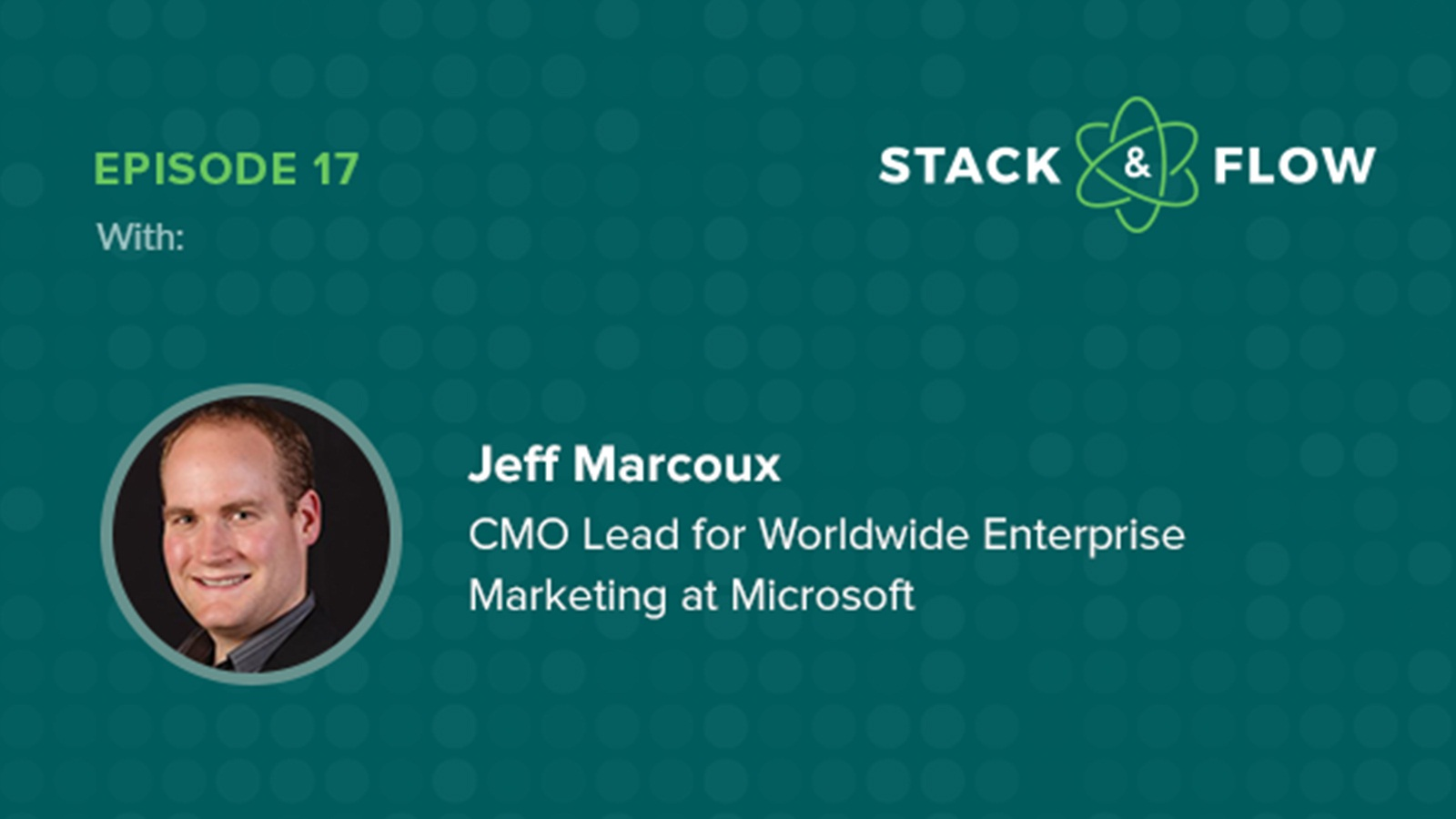Jeff Marcoux martech podcast