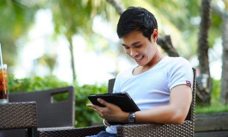 Featured image - man with tablet