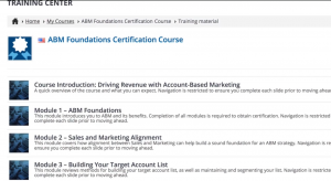 """ABM Certification: Foundations""- Beginners Course"