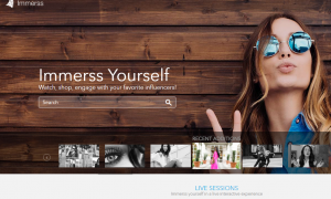 Stylebop.com Partners with Immerss.live to Promote Brands on Live Video