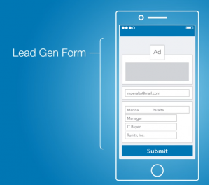 Lead Gen Form by LinkedIn