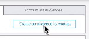 LinkedIn Matched Audiences- Audience List Creation