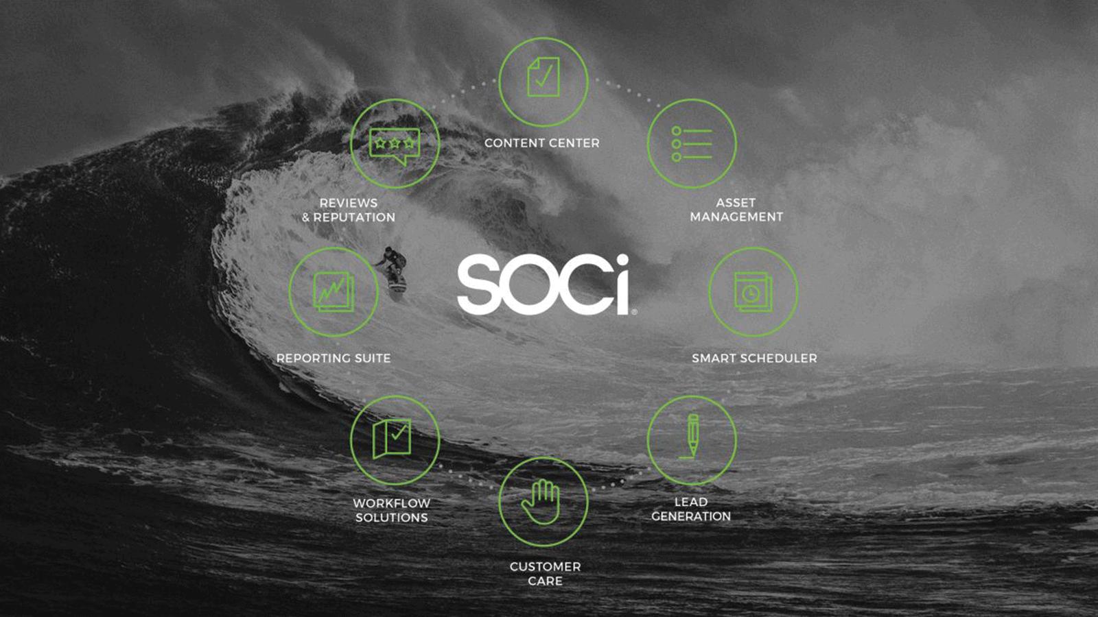 SOCi, social media management