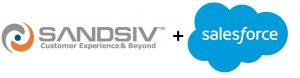 SandSIV + Salesforce Logo