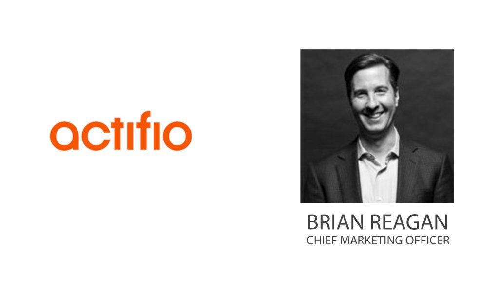 Actifio Promotes Brian Reagan as Chief Marketing Officer