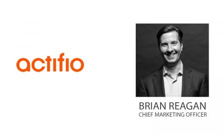 Actifio Promotes Brian Reagan as Chief Marketing Officer
