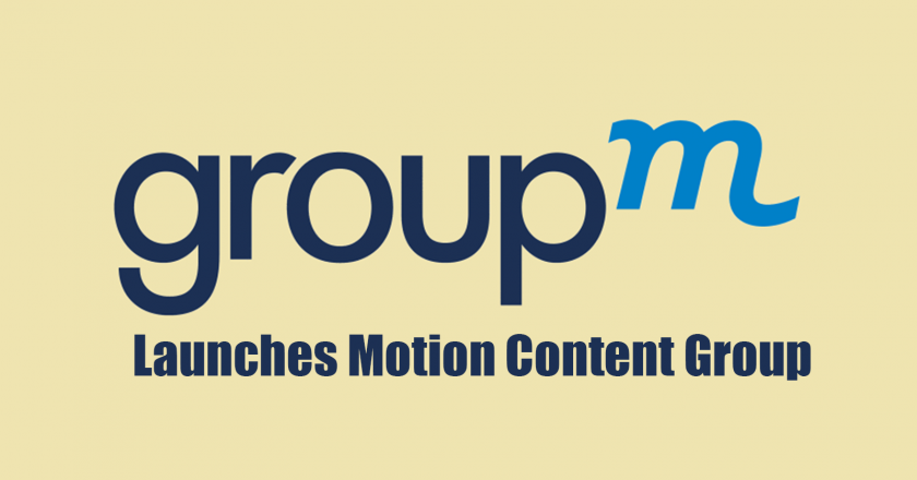 GroupM launches Motion