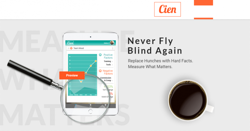 AI-First Startup Cien is Salesforce's Customer Hero