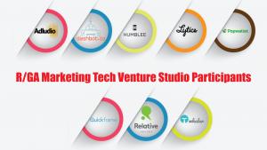 R/GA Marketing Tech Venture Studio Participants