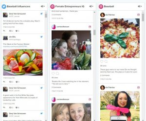 Cision Social Media Dashboarc
