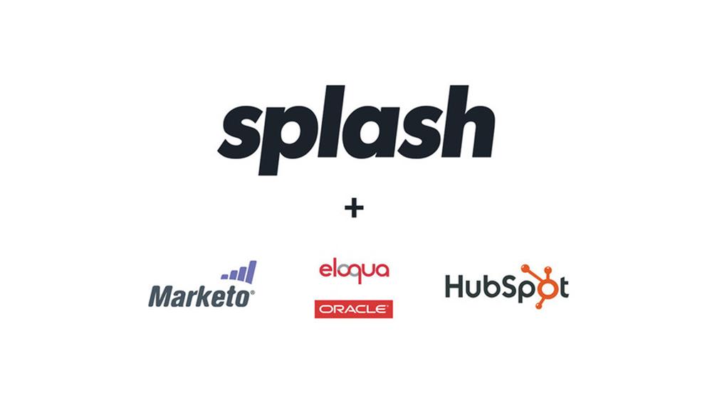 Splash Announces Native Integrations with Marketo, Oracle Eloqua, and Hubspot