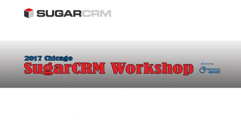 SugarCRM Workshop 2017