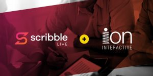 ScribbleLive acquires ion interactive