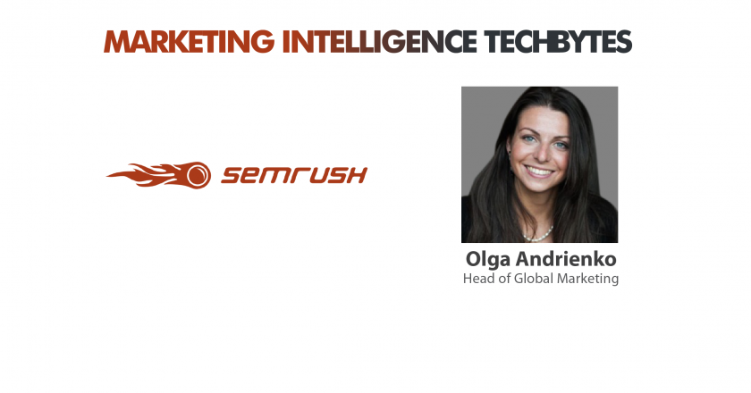 Olga Andrienko, Head Marketing, SEMRush