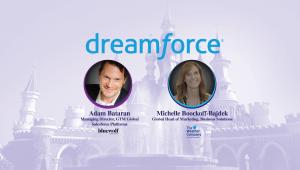 Adam Bataran and Michelle Boockoff-Bajdek at DreamForce 2017