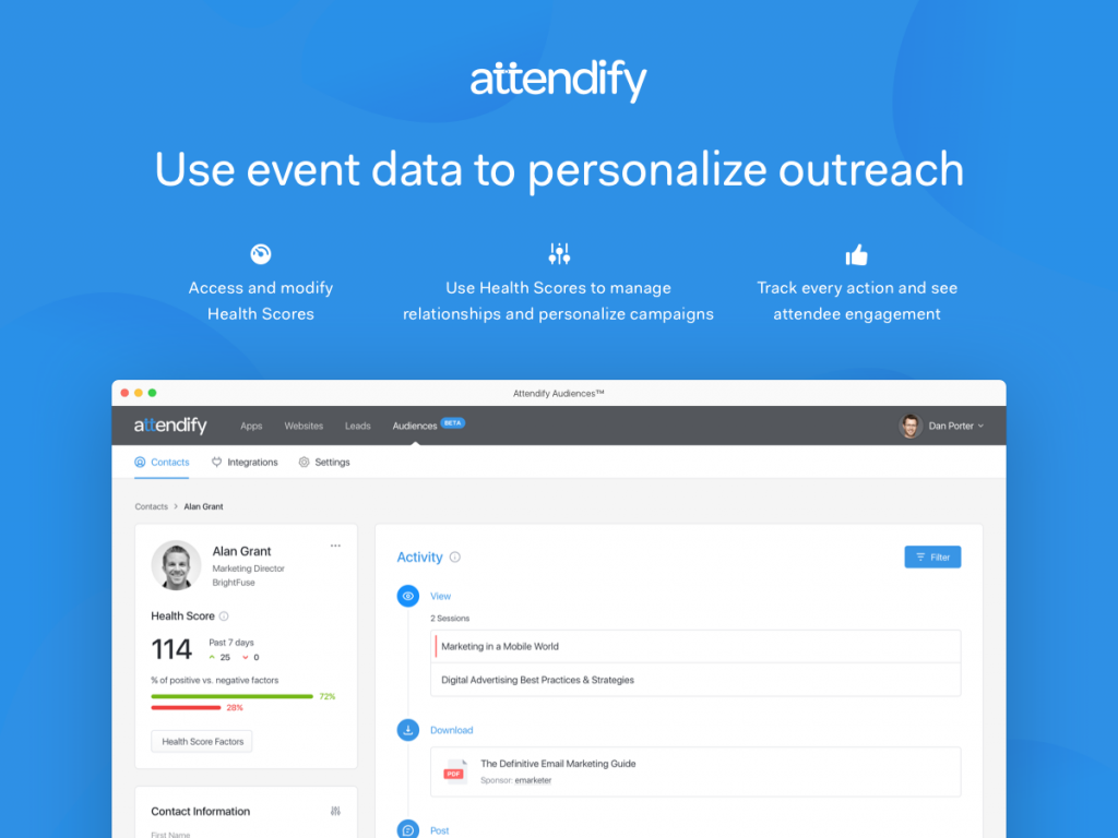 Attendify Creates a Private Social Network for Your Event