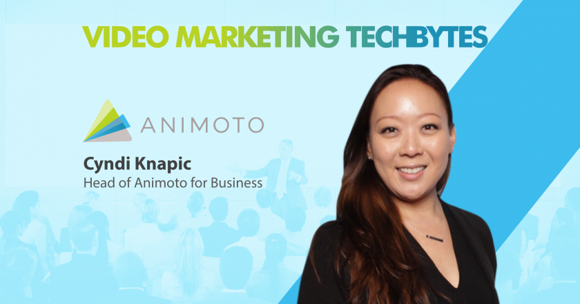TechBytes with Cynthia Knapic, Head, Animoto for Business