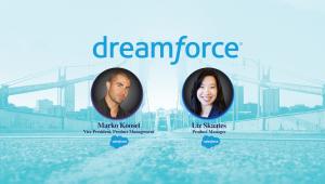 Marko Koosel and Liz Skaates at Dreamforce 2017