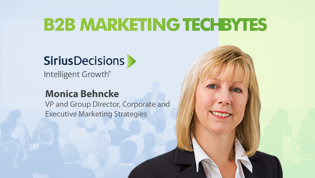Monica Behncke, Sirius Decisions
