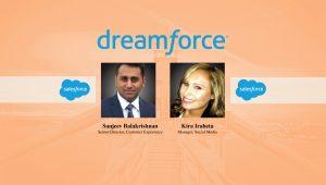 Kira Iraheta and Sanjeev Balakrishnan, Dreamforce 2017