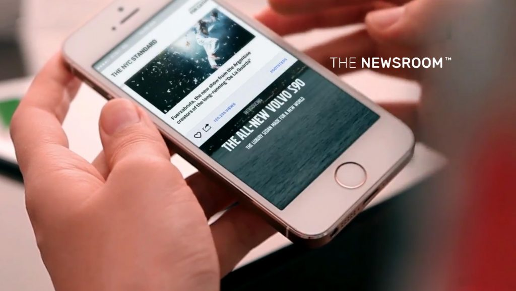 Newsroom AI Allows Any Publisher to Build Facebook-style Newsfeeds