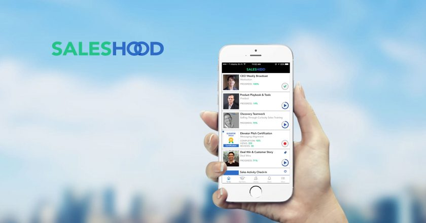 SalesHood Announces The Release Of Automatic Speech Recognition To Revolutionize How Companies Share Knowledge And Enable Their Teams