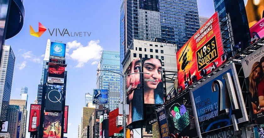This Holiday Season, VIVA Entertainment Group to Showcase Viva Live TV App on Times Square Jumbotron