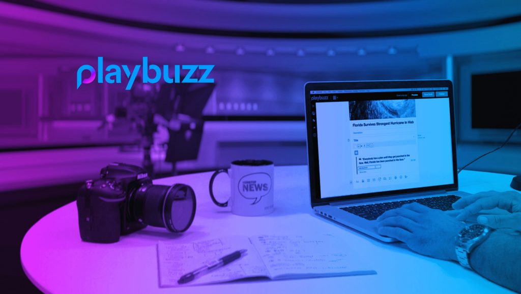 Playbuzz Raises Additional $35M, Reinforcing Position as a Global Leader in Interactive Storytelling