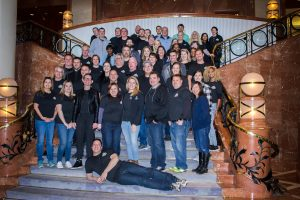 TPG Group photo taken at Four Seasons Hotel during 2018 Annual Company Meeting