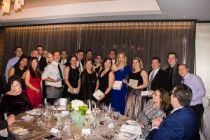 TPG American Express Team who won Teamwork Award