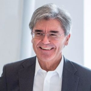 Joe Kaeser, President and CEO, Siemens