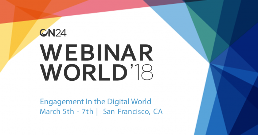 ON-24 Webinar World 2018