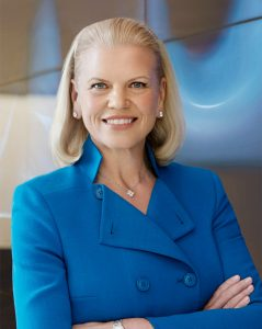 Ginni Rometty Chairman, President, and CEO, IBM