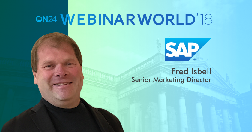 ON24 Webinar World Techbytes Fred Isbell SAP