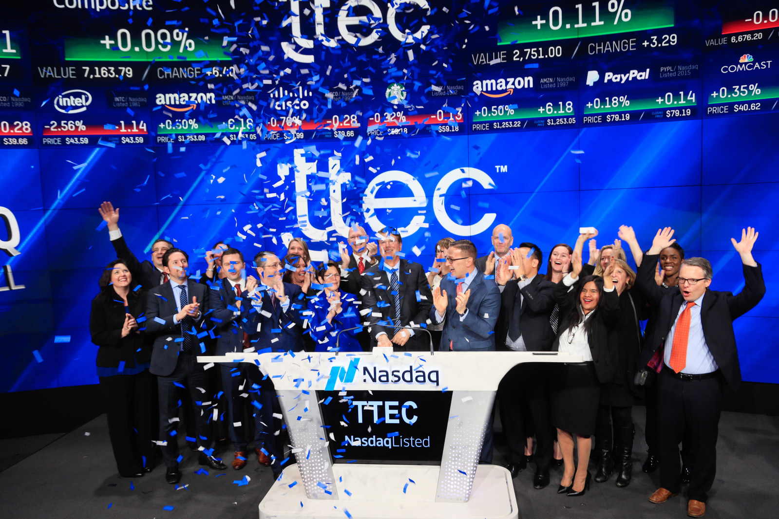 Customer Experience Pioneer and Leader TTEC Launches New Look to Complement New Name