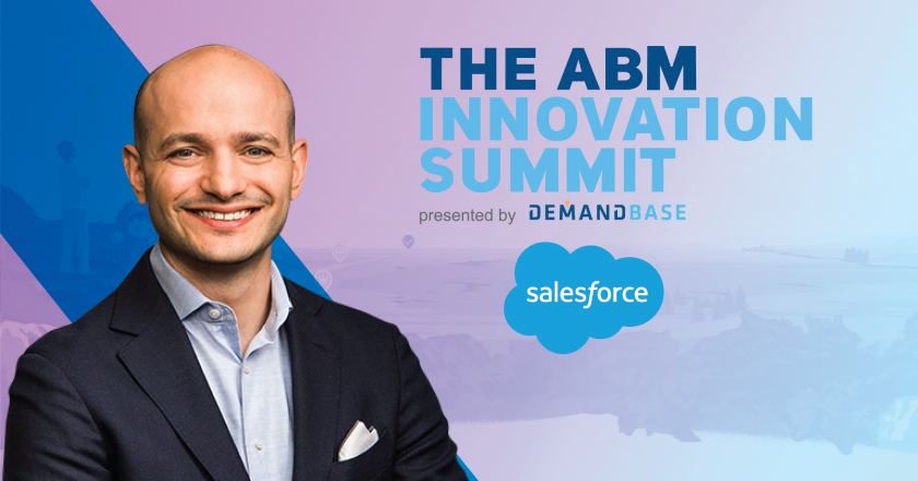 Adam Blitzer Salesforce-ABM Innovation Summit 2018