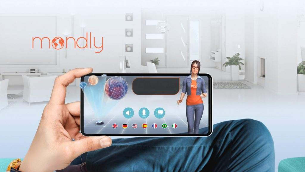 Mondly Launches MondlyAR: The First Augmented Reality Experience That Uses Speech Recognition to Teach Languages