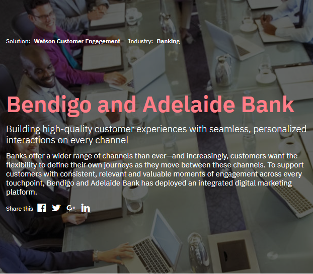 Bendigo and Adelaide Bank