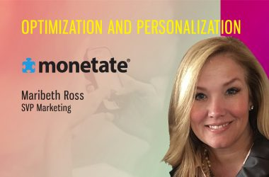 TechBytes with Maribeth Ross, SVP Marketing, Monetate