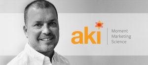 Todd Benedict, CRO, Aki Technologies