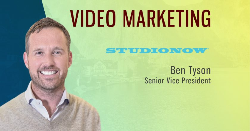 TechBytes with Ben Tyson, Senior Vice President, StudioNow