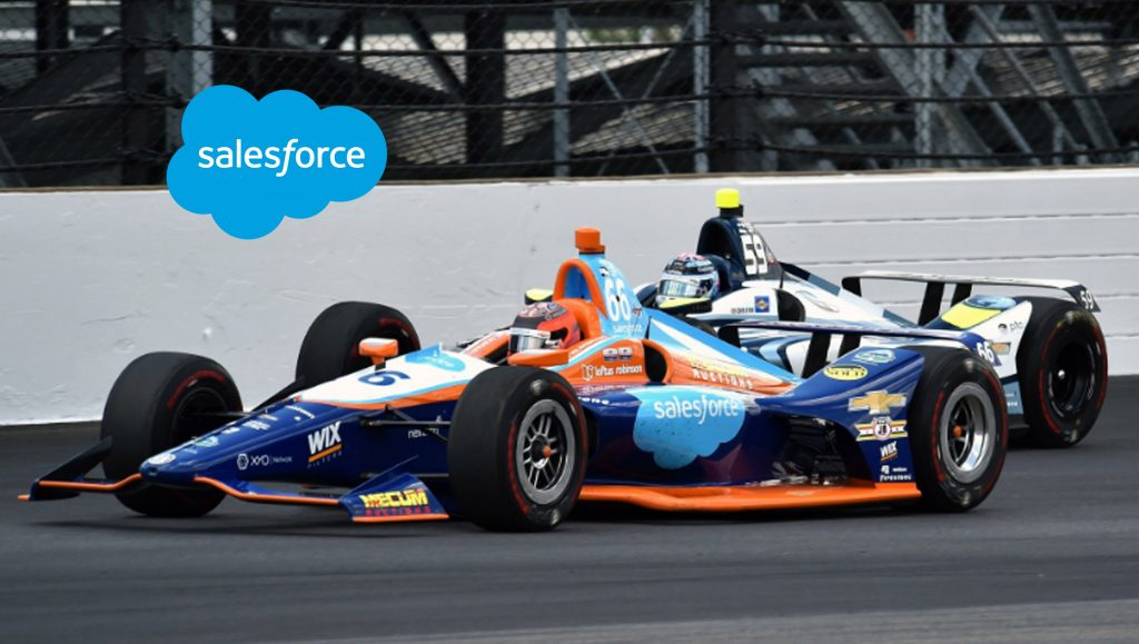 Salesforce-Sponsored Car 66 Finishes in Top-12 in Indy 500