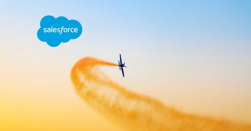 Salesforce Leads in Enterprise High-Productivity Application Platform as a Service