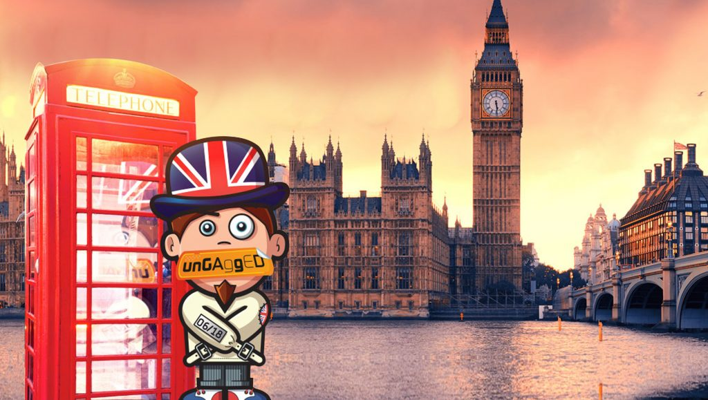 UnGagged@ Las Vegas & London: Going Beyond The Conventional