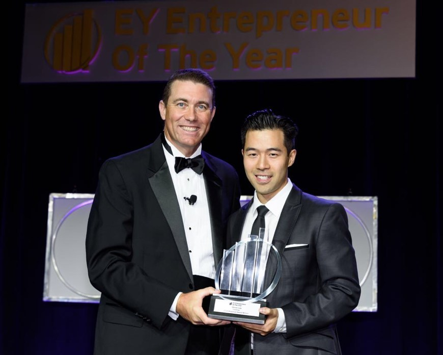 FieldEdge's Steve Lau and Rameez Ansari Receive Ernst & Young's 2018 Entrepreneur Of The Year Award
