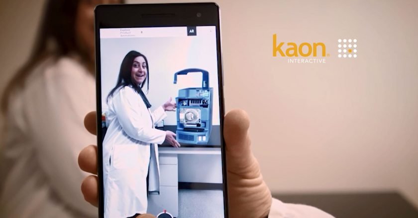 Kaon Interactive Wins Communicator Awards for Siemens and Tecan Applications