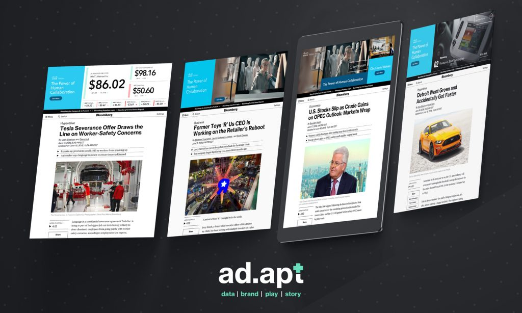 Bloomberg Unveils ad.apt, a New Display Ad Format